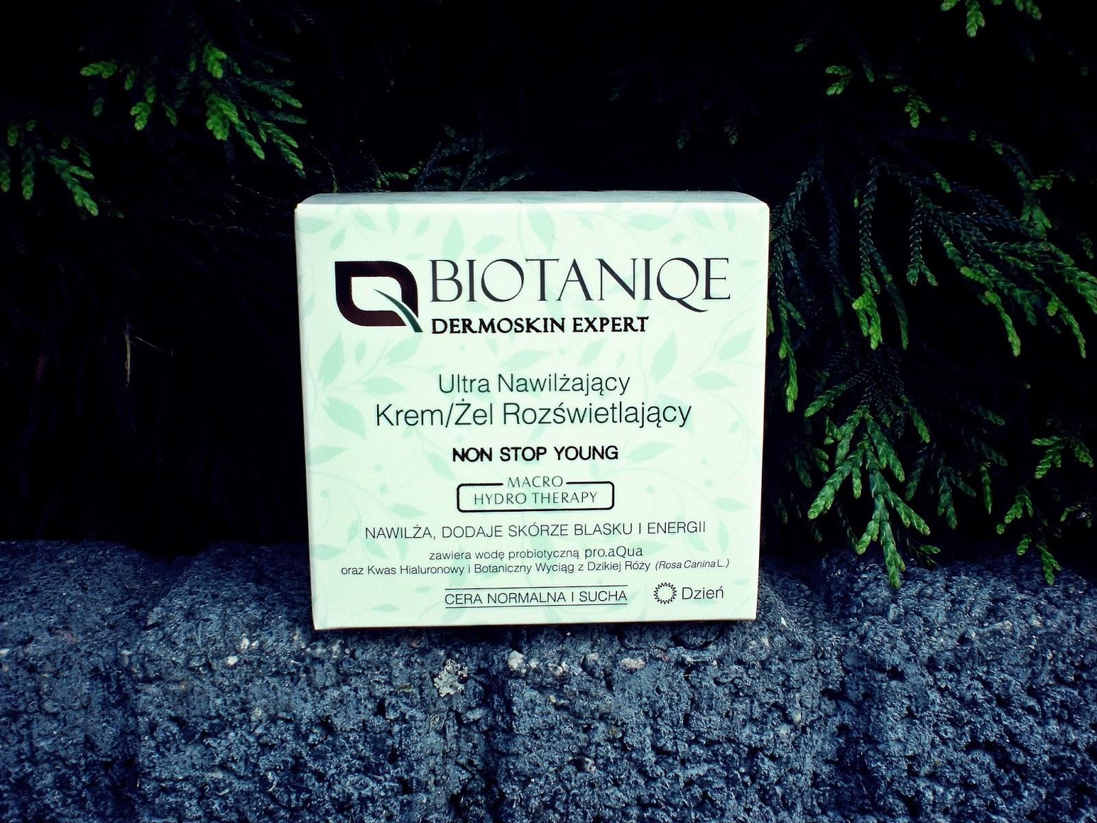 Ultra Nawilżający Krem/Żel Rozświetlający Biotaniqe