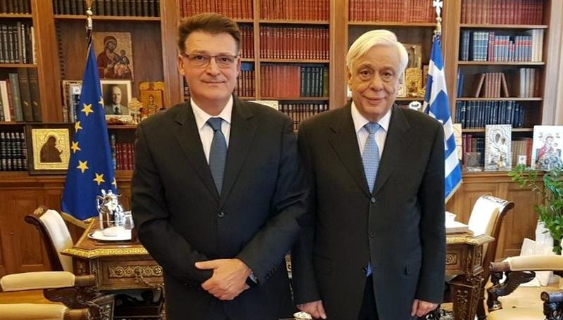 Συνάντηση του Αντιπεριφερειάρχη Έβρου με τον Πρόεδρο της Δημοκρατίας