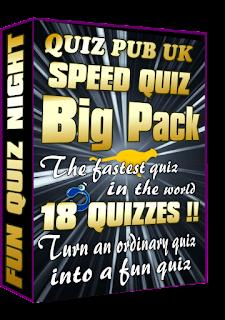 Speed dating pub quiz
