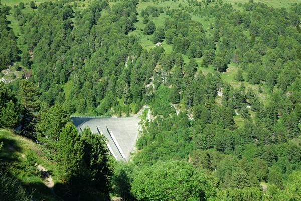 savoie maurienne vanoise aussois barrage plan amont