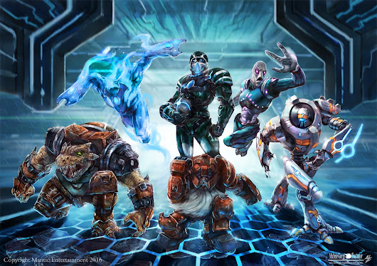 Dreadball Ultimate ;) Copyright Mantic Entertainment 2016