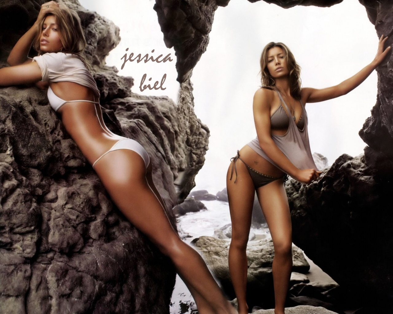 Sexy wallpappers of jessica biel
