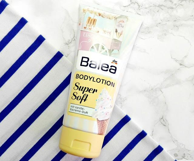 Balea Rummelplatz LE Bodylotion Super Soft mit Vanille-Eiscreme-Duft