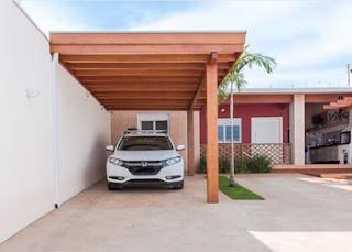 Gambar model garasi mobil untuk rumah berukuran kecil