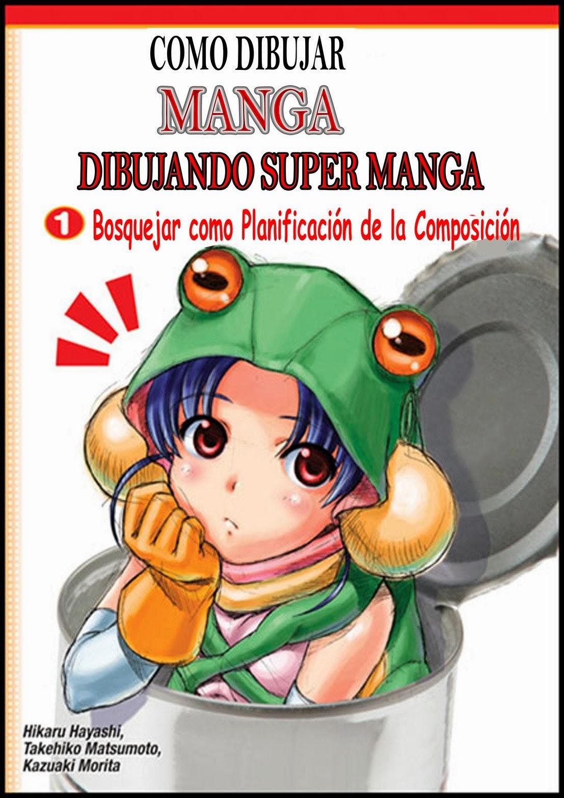[Descarga] Manga Avanzado: Dibujar Manga sin Modelo.