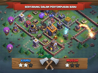 Clash Of Clans Mode Malam