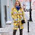 Yellow Check Coat