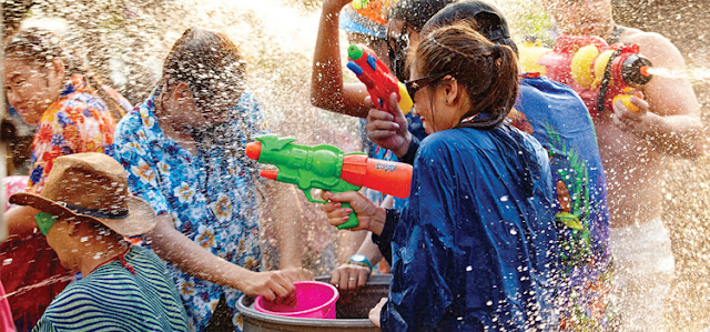 Make a splash at Songkran Festival