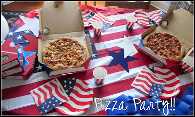 American Pizza Party! 1