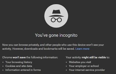 Jaga Privasi Ber-Internet dengan Incognito Mode