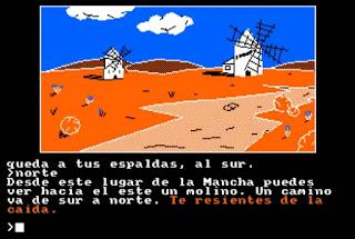 Don Quijote, la aventura - versión Amstrad