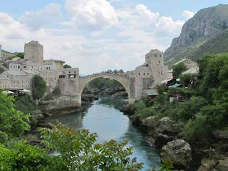 Old Bridge Stari Most Mostar Bosnia