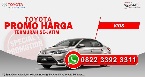 Promo Harga Toyota Vios Surabaya