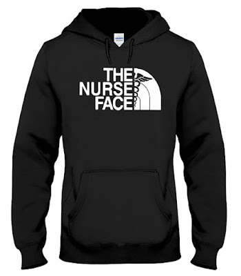 The Nurse Face Hoodie