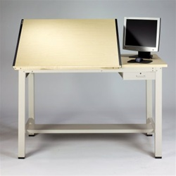 Split Top Drafting Table