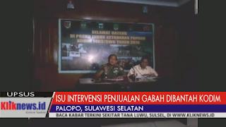 VIDEO: Dandim Klarifikasi Isu Intervensi Penjualan Gabah