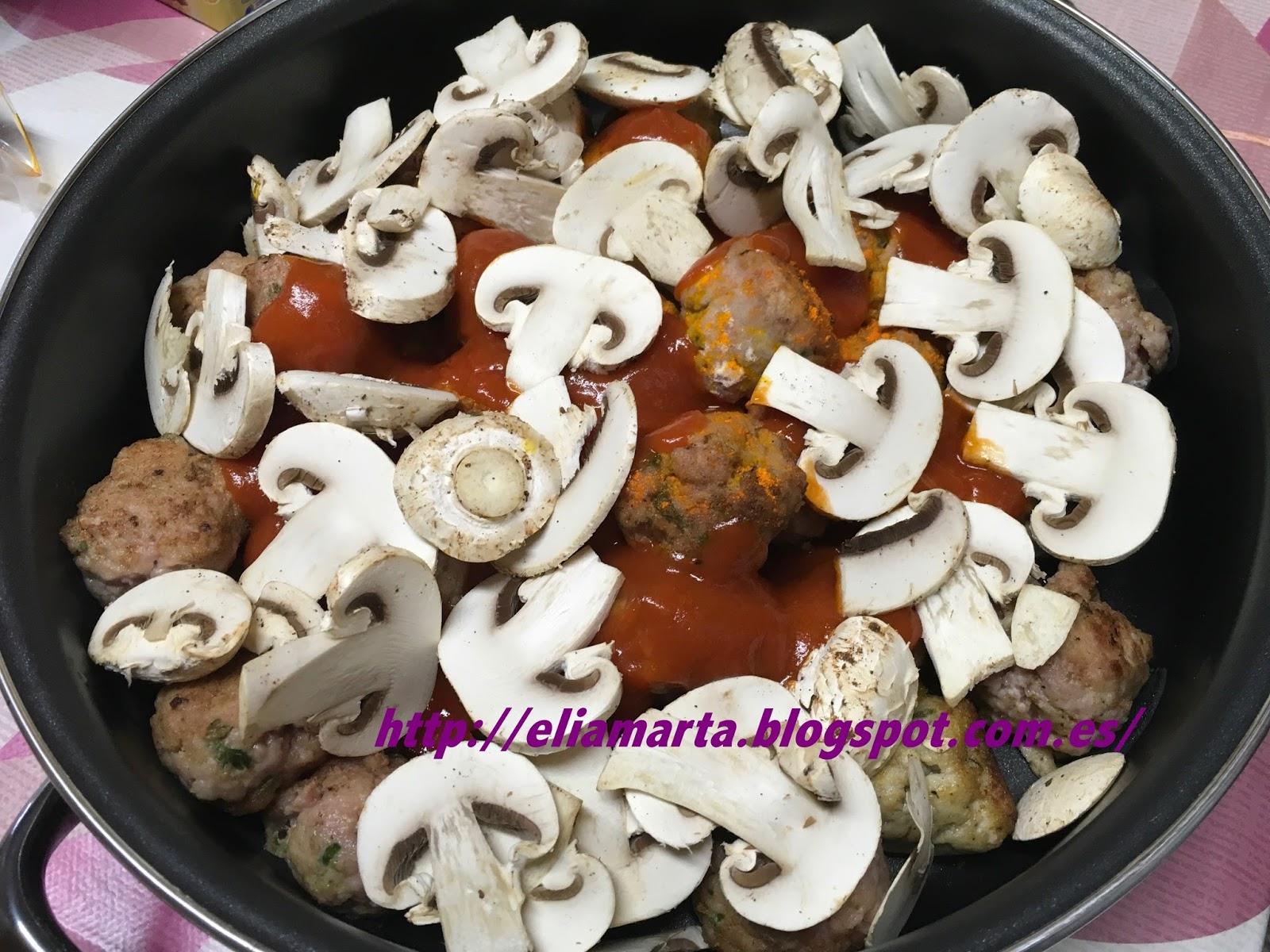 Mis recetas buen ver y buen comer albondigas en salsa - Acompanamiento para albondigas ...
