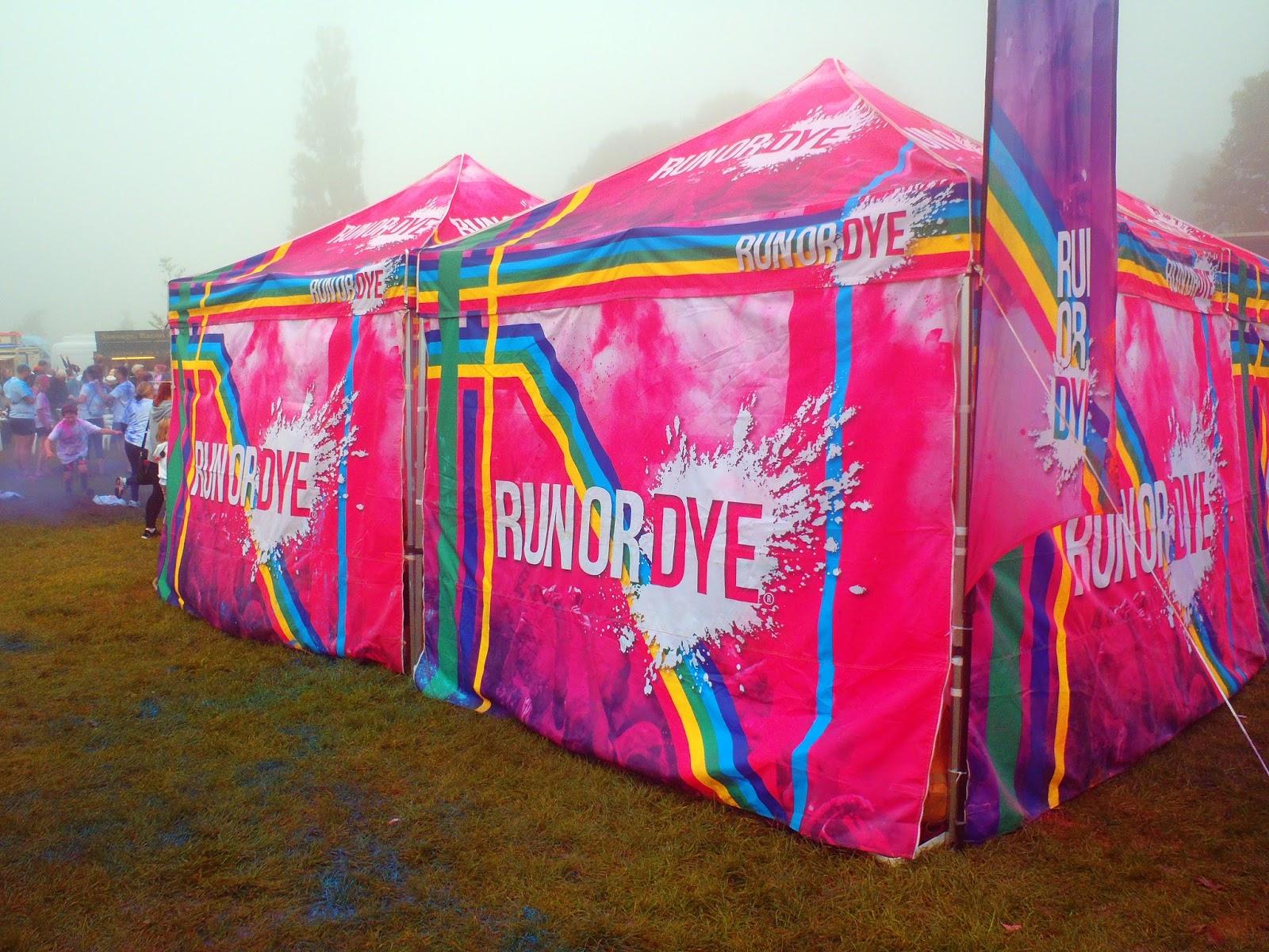 Run or Dye Tents