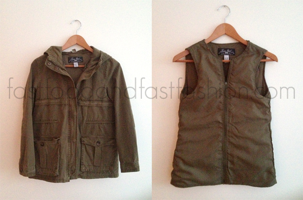 Zara Parka with Detachable Waistcoat