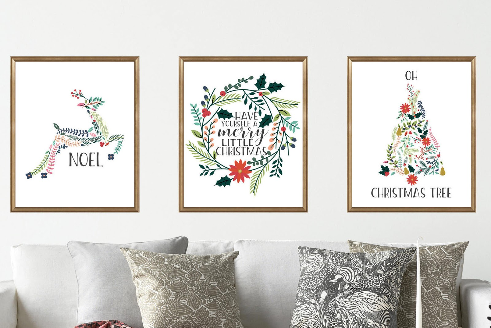 Handmademn printable downloads for gifts and gift wrap from printable christmas wall art in two sizes from twinkle me designs 11 solutioingenieria Choice Image