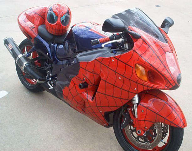 Hot moto speed amazing cool bikes - Spider man moto ...