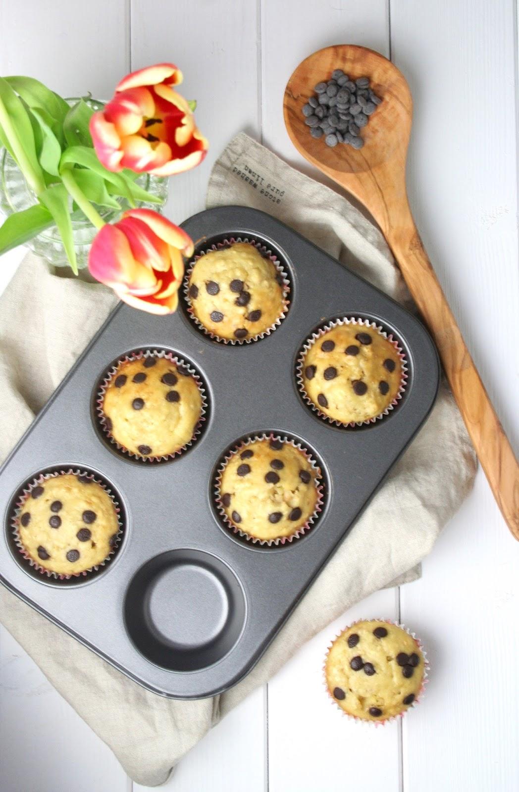 Fettarme Joghurt-Muffins ohne Fett und ohne Ei -