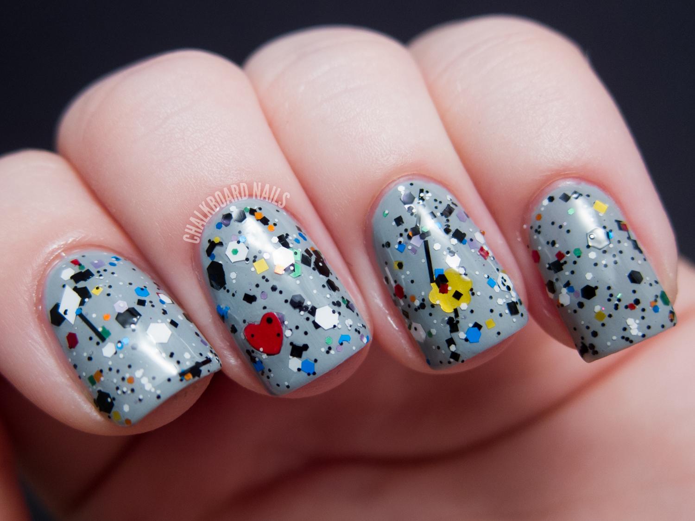 Naild'it Unique Nail Polish - Spring Has Sprung Collection Selections | Chalkboard Nails | Nail ...