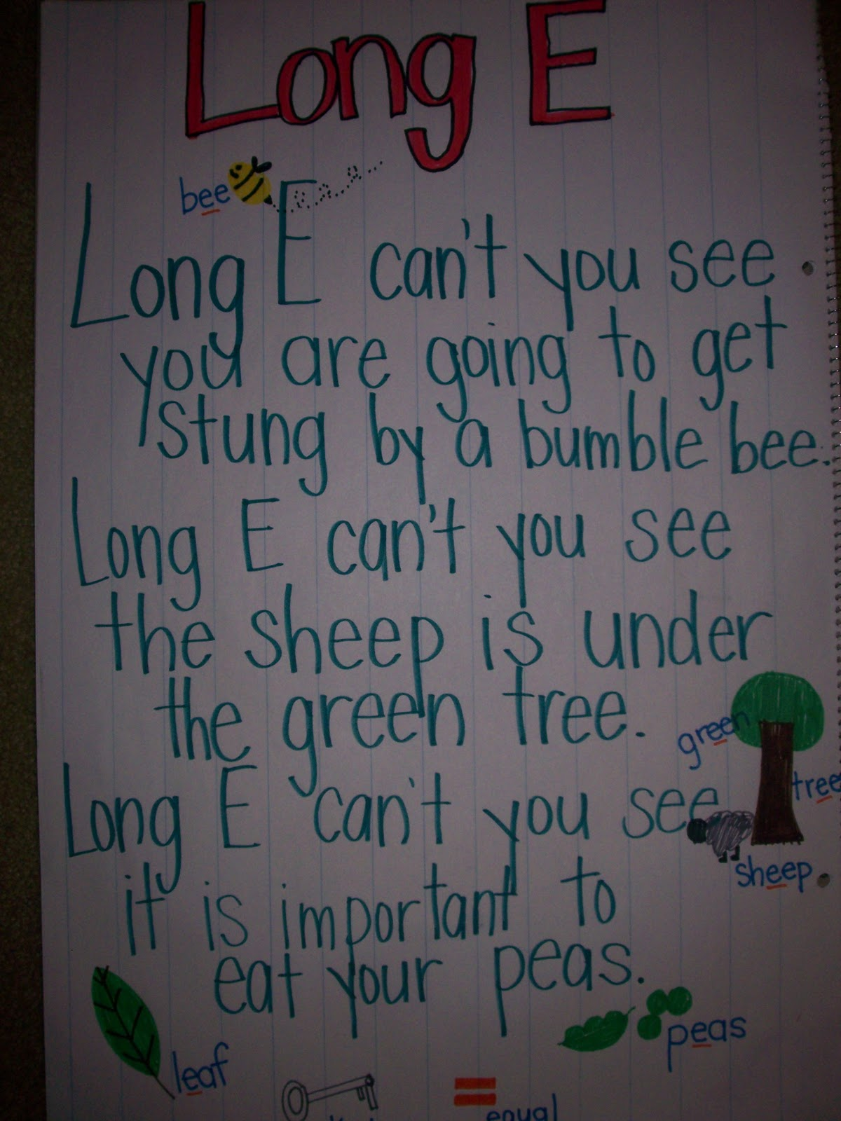 Kindergarten Rocks Long Vowel Poems
