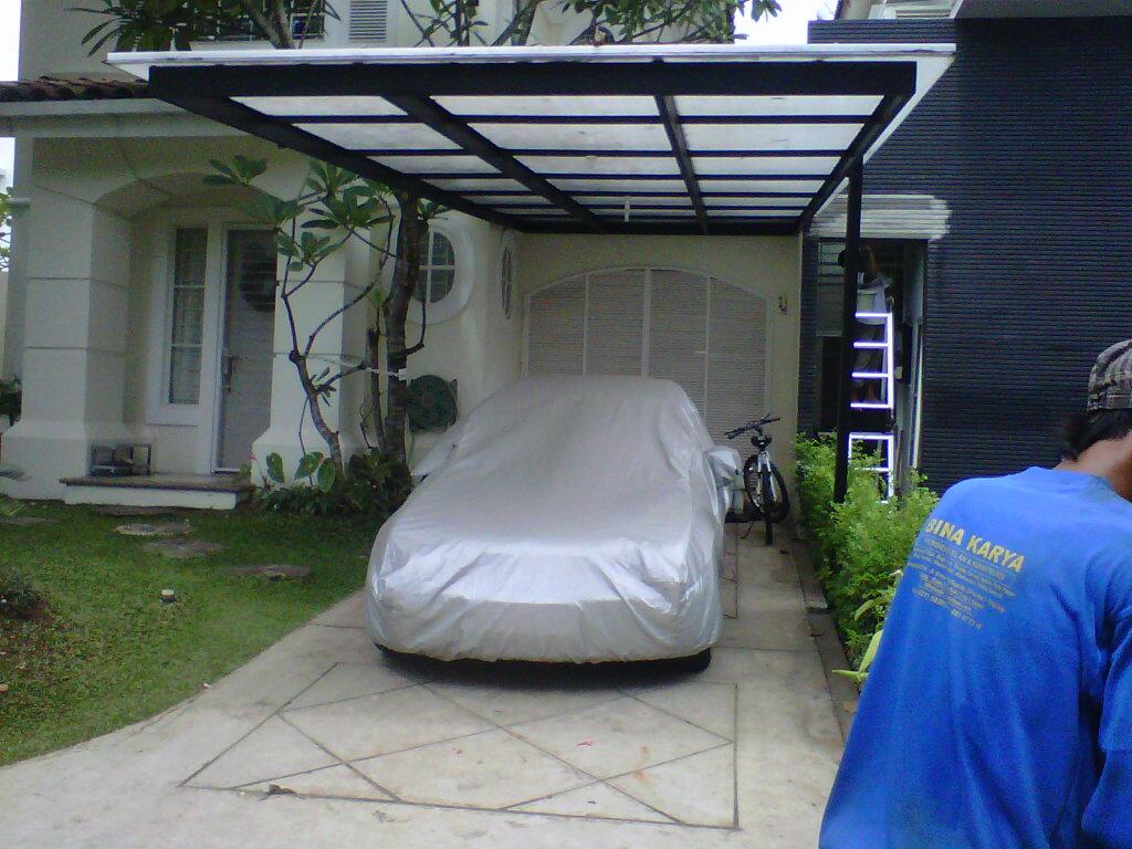 Gambar Kanopi Bahan Baja Ringan Canopy Carport,kanopi: Bina Karya Foto/gambar ...