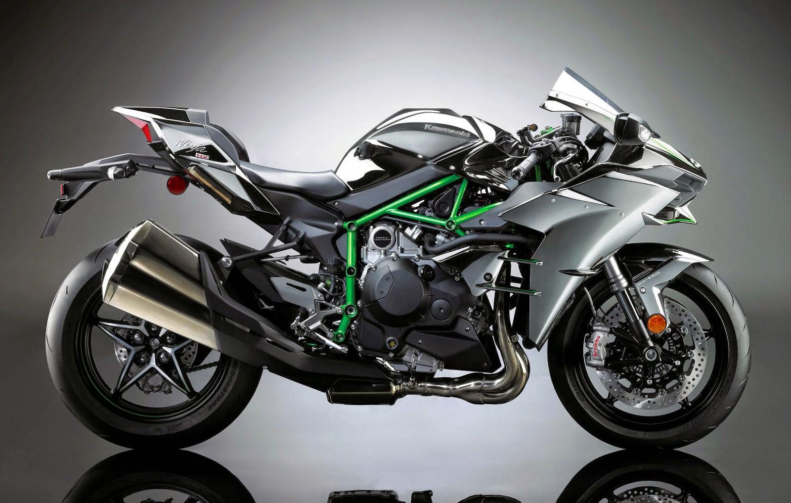 Kawasaki Upcoming Super Sports Bike Ninja H2 2015 Bike Car Art