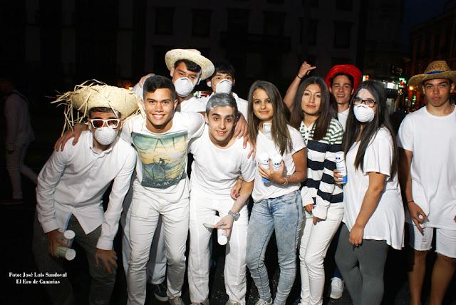 fotos vídeo Carnaval tradicional 2016 , noche de polvos, Carnaval Las Palmas