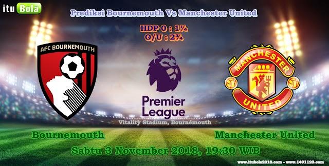 Prediksi Bournemouth Vs Manchester United  - ituBola