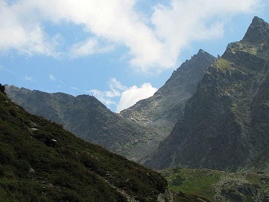 Widok na przełęcz Waga