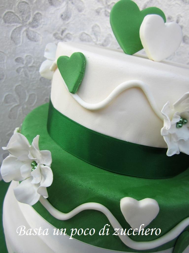 Favorito Basta un poco di zucchero: Torta Nozze di smeraldo OS11