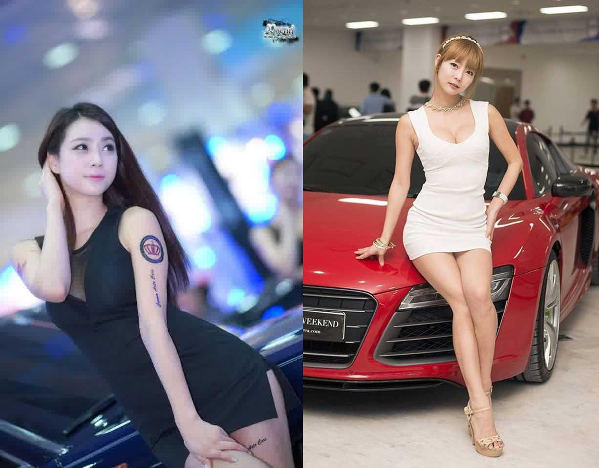 Foto Model SPG Motor Show Cantik Ban Tampil Menggoda MyOtomotif