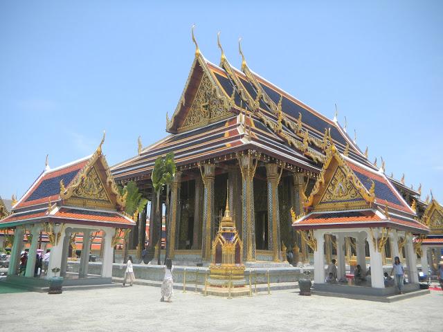 Royal Grand Palace: a principal atração turística de Bangkok, Tailândia