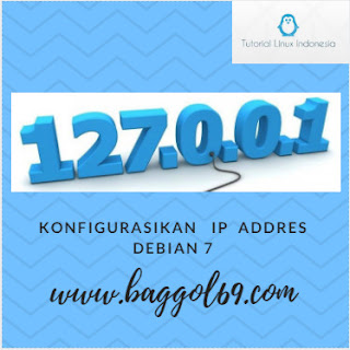 Konfigurasi  IP  Address   Debian  7