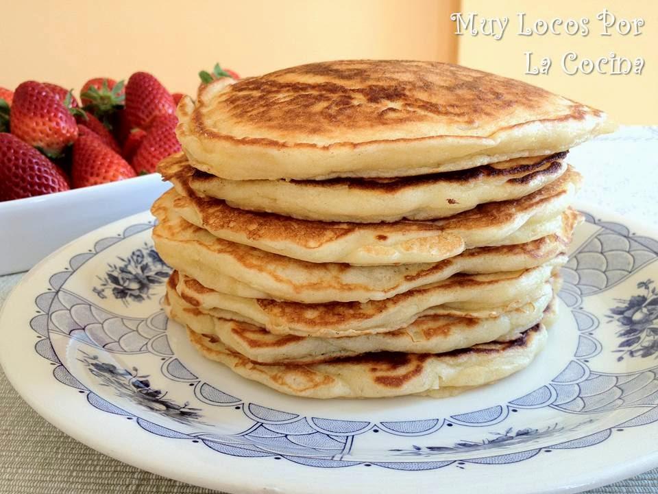 Yoghurt Pancakes (Tortitas Americanas de Yogur)