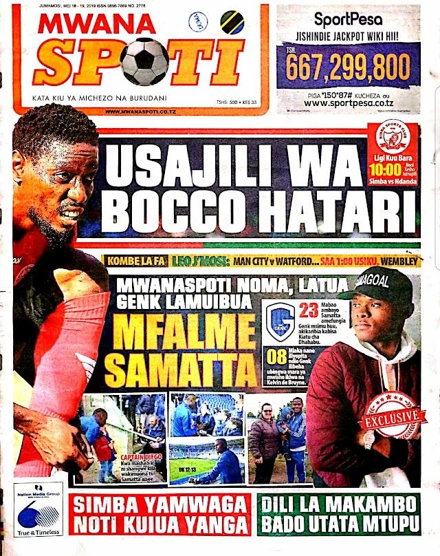 Vijuso vya Leo May 18,2019 Magazetini Tanzania.