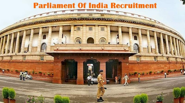 Parliament Of India Translator Recruitment