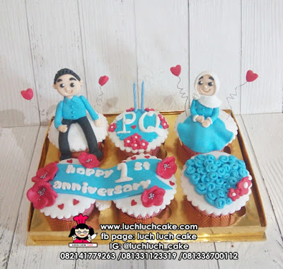 Cupcake Romantis Fondant isi 4