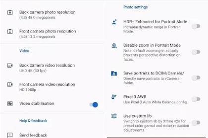 Tutorial Install Google Camera Redmi Note 7 dan Note 7 Pro