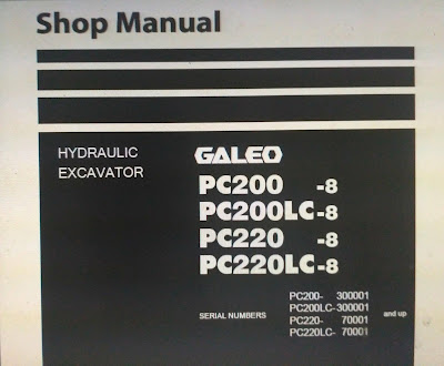 Komatsu PC 200-8.shop manual  1