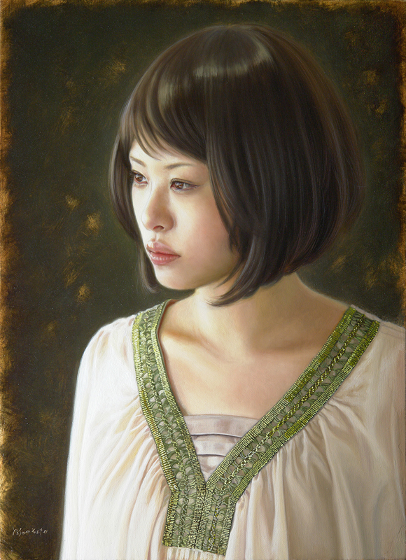woman paintings by 加藤裕生(Kato Yasuo)