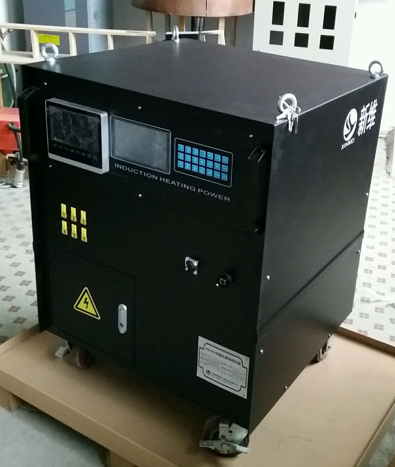 Induction Heating Equipment : Preheat pwht equipment machine system similar to miller