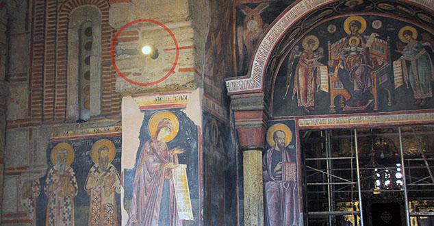 #Gracanica, #Kosovo, #metohija, #Reflektori, #Skrnavljenje, #crkva, #muzej, #freske, #molitva,