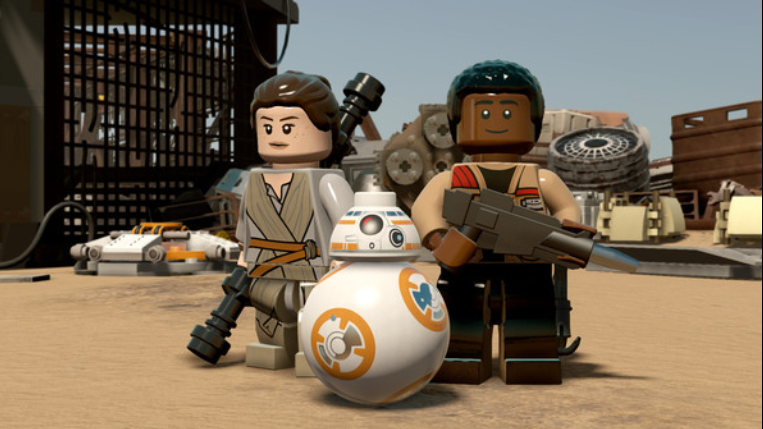 LEGO STAR WARS The Force Awakens ( 4 DVD )