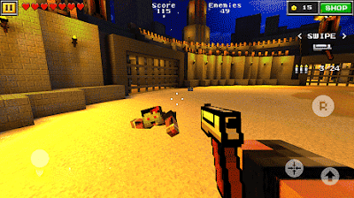 Pixel Gun 3D Mod Apk Unlimited Bullets