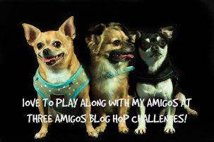 THREE AMIGOS BLOGHOP CHALLENGE