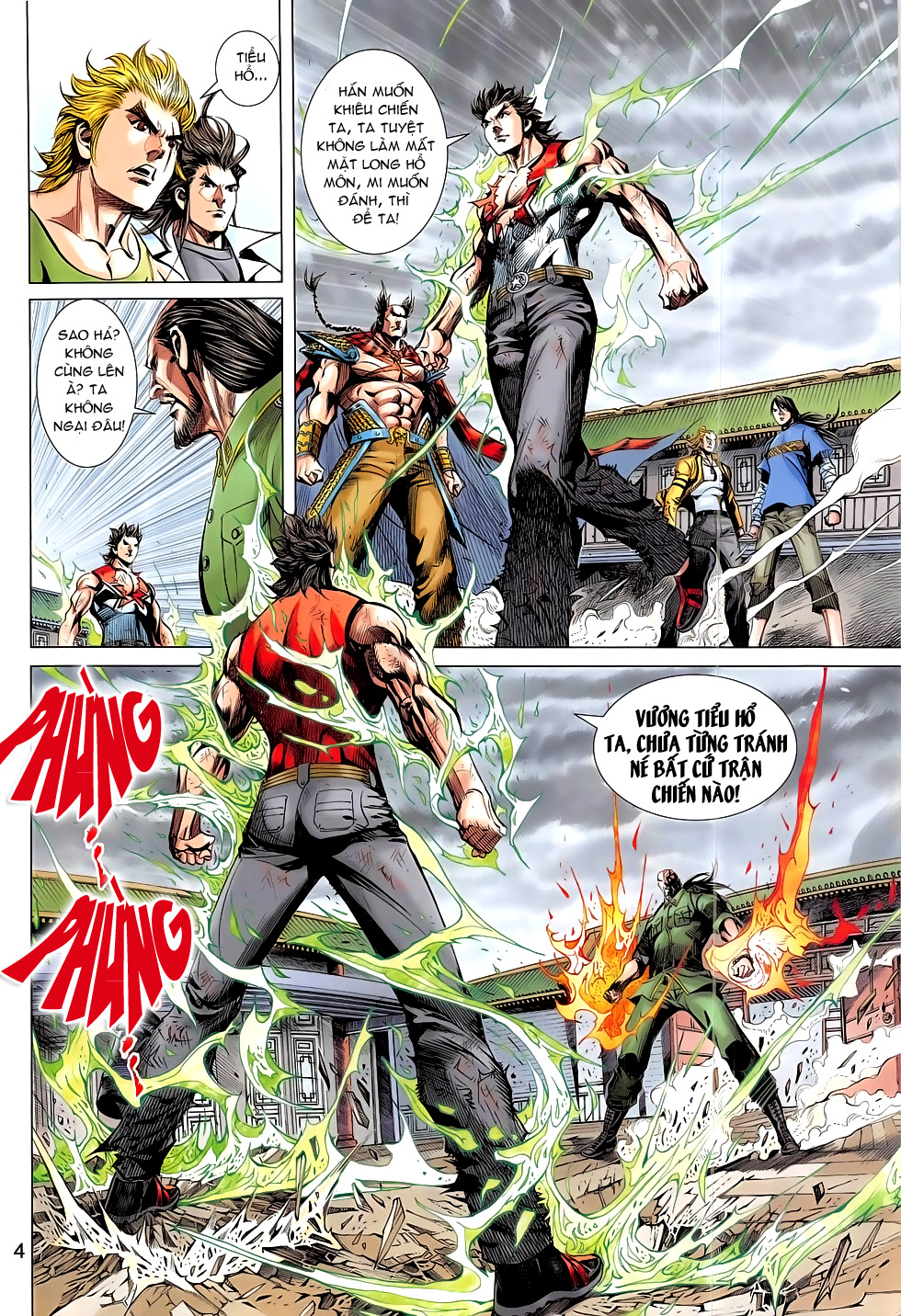 Đông Phương Chân Long chap 66 - Trang 4